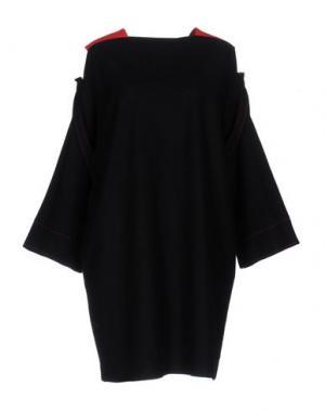 Короткое платье REJINA PYO. Цвет: темно-синий