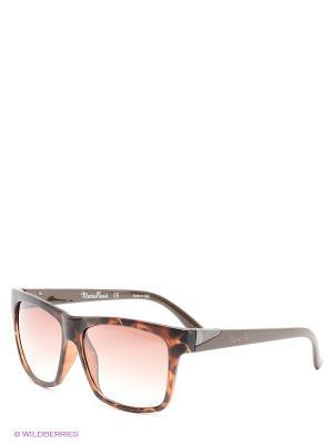 Солнцезащитные очки Mario Rossi. Цвет: темно-коричневый