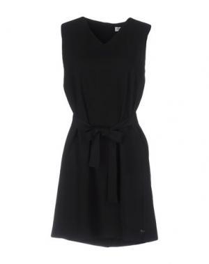 Короткое платье OTTOD'AME. Цвет: черный