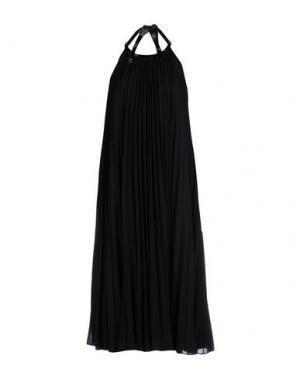 Платье длиной 3/4 RAOUL. Цвет: черный