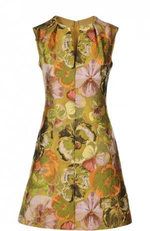 Платье Giambattista Valli. Цвет: разноцветный