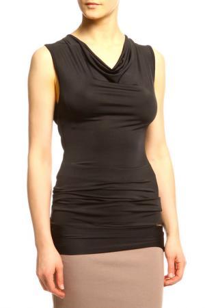 Блузка Sabra. Цвет: черный