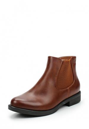Ботинки Vera Blum. Цвет: коричневый