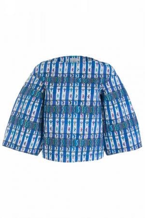 Блуза STELLA JEAN. Цвет: синий