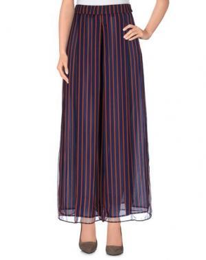 Повседневные брюки NANUSHKA. Цвет: темно-синий