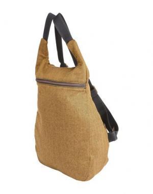 Рюкзаки и сумки на пояс MANTICO. Цвет: охра