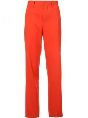 Прямые брюки Dion Lee. Цвет: красный