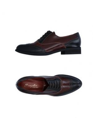 Обувь на шнурках F.LLI BRUGLIA. Цвет: черный