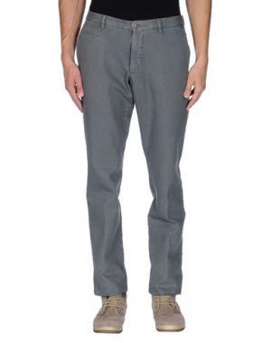 Повседневные брюки ALTEA. Цвет: серый