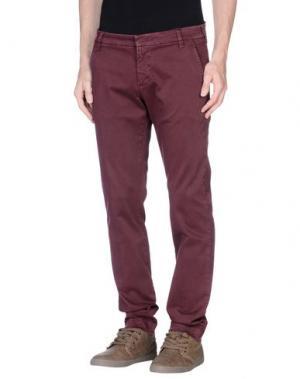 Повседневные брюки ENTRE AMIS. Цвет: пурпурный