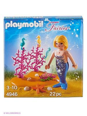Яйцо: Русалочка и морские коньки Playmobil. Цвет: розовый