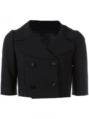 Укороченный жакет Dolce & Gabbana. Цвет: чёрный