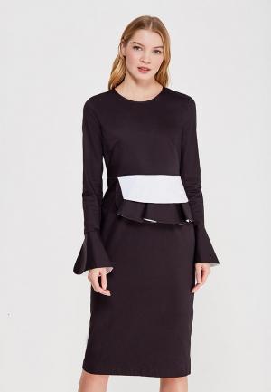 Платье Pepen. Цвет: черный