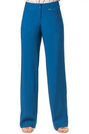 Прямые брюки с 4-мя карманами Helmidge. Цвет: синий