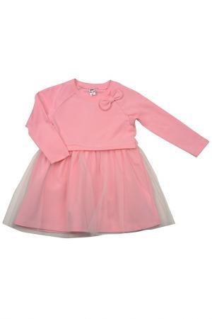 Платье MINI-MAXI. Цвет: розовый