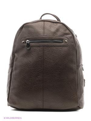 Рюкзак женский Malvinas. Цвет: темно-коричневый