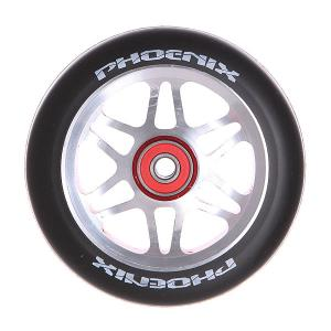 Колесо для самоката  F6 Alloy Core Wheel 110mm With Abec 9 Bearings Red/Black Phoenix. Цвет: черный,серый,красный