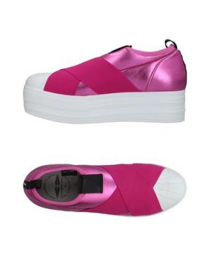 Низкие кеды и кроссовки FESSURA. Цвет: фуксия