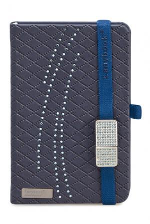 Книга записная с флешкой 115461 Lanybook. Цвет: синий