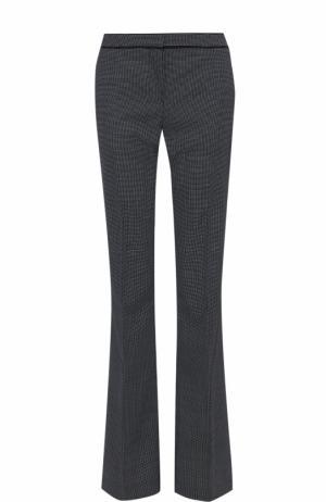 Расклешенные брюки со стрелками и карманами BOSS. Цвет: черно-белый