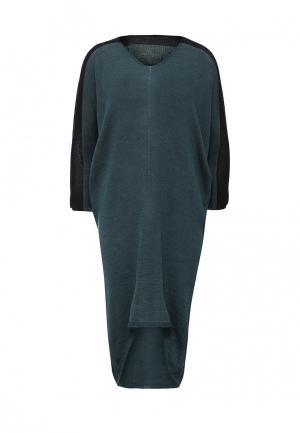 Платье Firkant. Цвет: бирюзовый