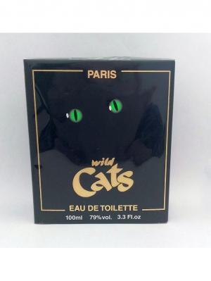 Cats Ж Wild туалетная вода 100 мл ТД Покровка. Цвет: зеленый, черный
