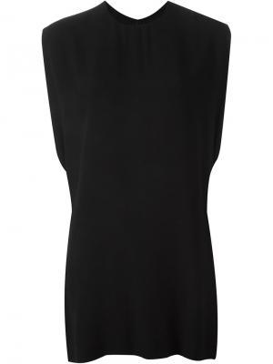 Платье свободного кроя Marni. Цвет: чёрный