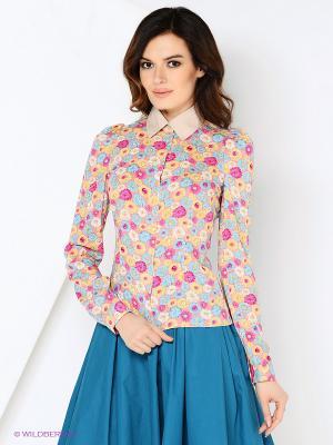 Блуза СОНЯ МАРМЕЛАДОВА. Цвет: оранжевый