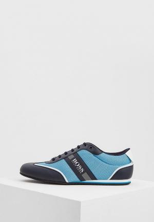 Кроссовки Boss Hugo. Цвет: голубой