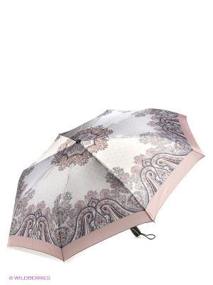 Зонт Fabretti. Цвет: светло-бежевый