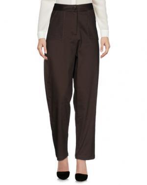 Повседневные брюки MEAM BY RICARDO PRETO. Цвет: свинцово-серый