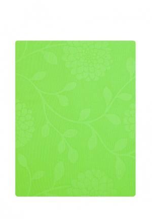 Комплект постельного белья Евро La Pastel. Цвет: зеленый