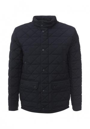 Куртка утепленная Lacoste. Цвет: синий
