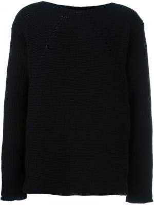 Вязаный свитер Lost & Found Ria Dunn. Цвет: чёрный