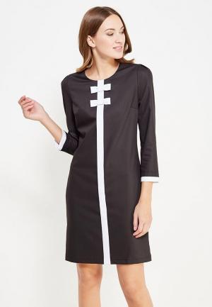 Платье Gregory. Цвет: черный