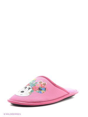 Тапочки BRIS. Цвет: розовый