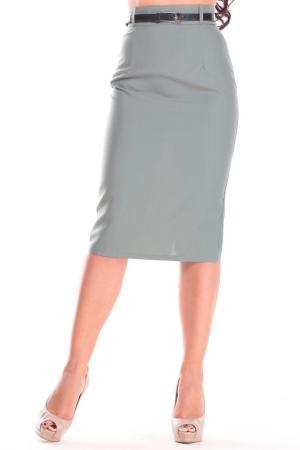 Юбка Laura Bettini. Цвет: оливковый