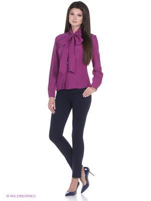 Блузка SEVONA. Цвет: лиловый