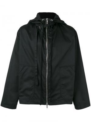 Куртка на молнии Raf Simons. Цвет: чёрный