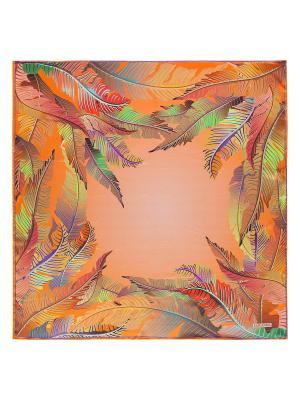 Платок Eleganzza. Цвет: светло-зеленый, голубой, красный, оранжевый, светло-коралловый, фиолетовый, хаки