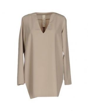 Блузка DANIELA PANCHERI. Цвет: песочный