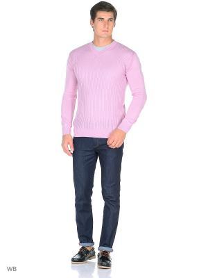 Пуловер Bilwelli. Цвет: лиловый