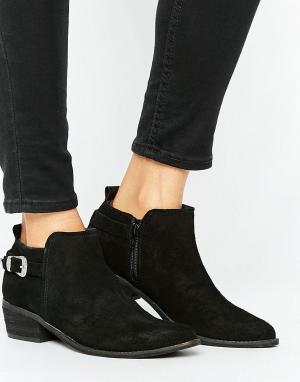 Ravel Ботинки с пряжками в стиле вестерн. Цвет: черный