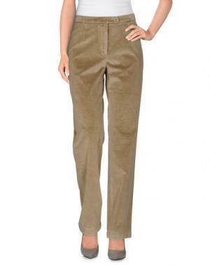 Повседневные брюки PONY. Цвет: бежевый