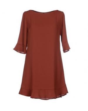 Короткое платье TWENTY EASY by KAOS. Цвет: кирпично-красный