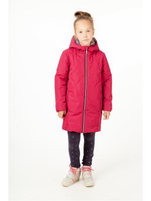 Пальто batik. Цвет: бордовый