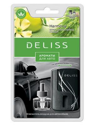 Автомобильный ароматизатор Deliss. Цвет: зеленый