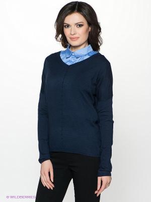 Пуловер INCITY. Цвет: темно-синий