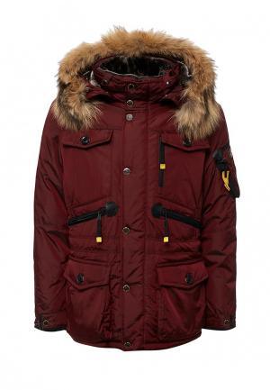 Куртка утепленная Vizani. Цвет: бордовый