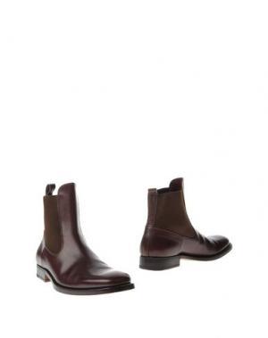 Полусапоги и высокие ботинки DOLCE & GABBANA. Цвет: баклажанный